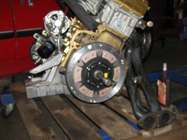 High performance clutch and flywheel