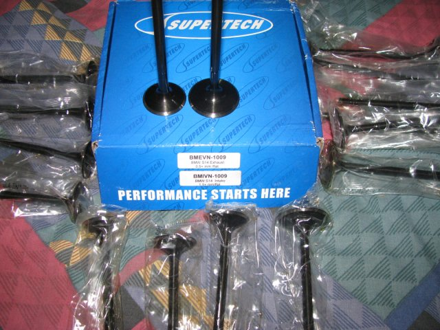 Supertech s38 valve set