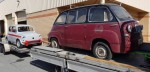 the mighty multipla and 850 TCR home bound